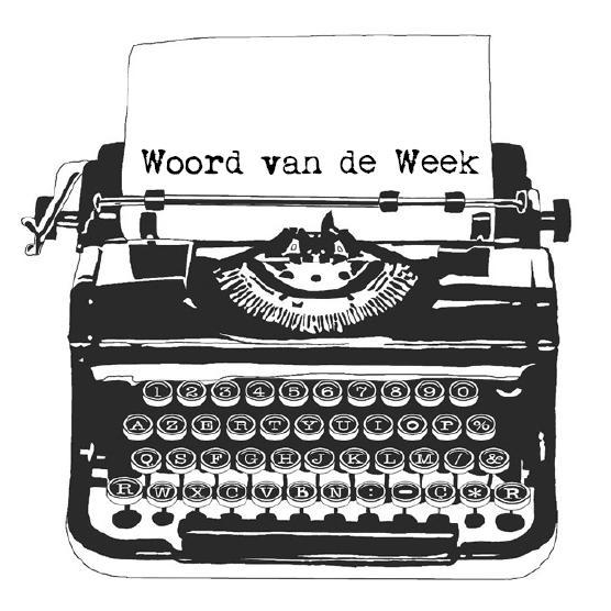 Het SchrijfCafé - Woord van de Week, logo