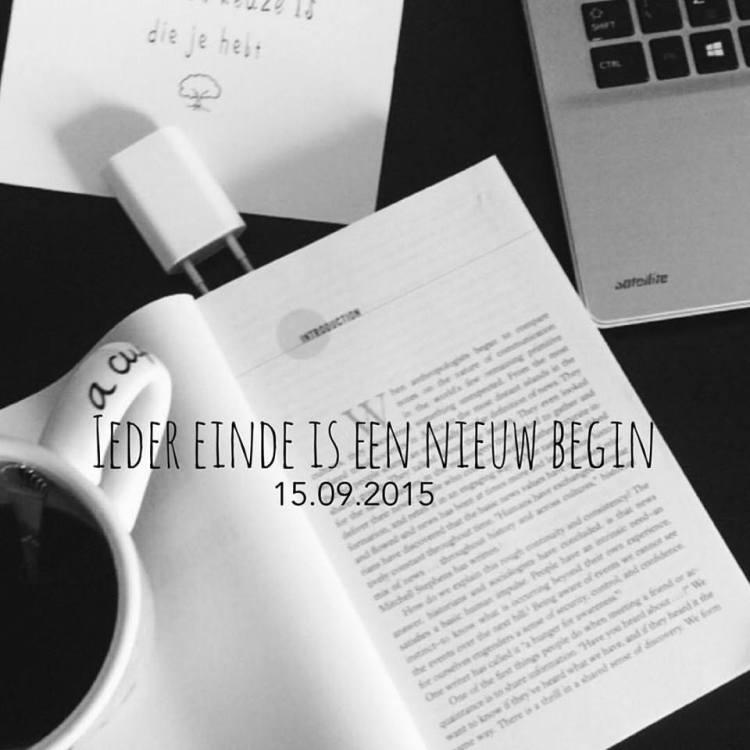 Het SchrijfCafé - Six Word Story - 15.09.2015 - Ieder einde is een nieuw begin