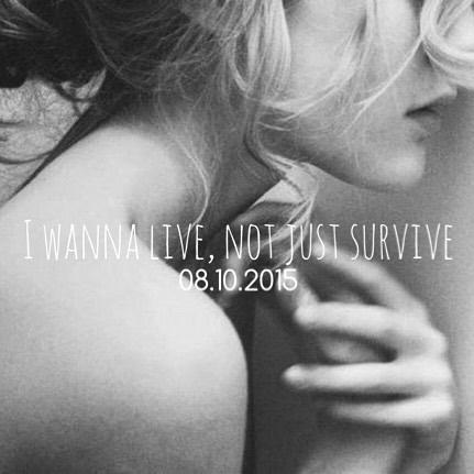 Het SchrijfCafé - Six Word Story - 08.10.2015 - I wanna live, not just survive