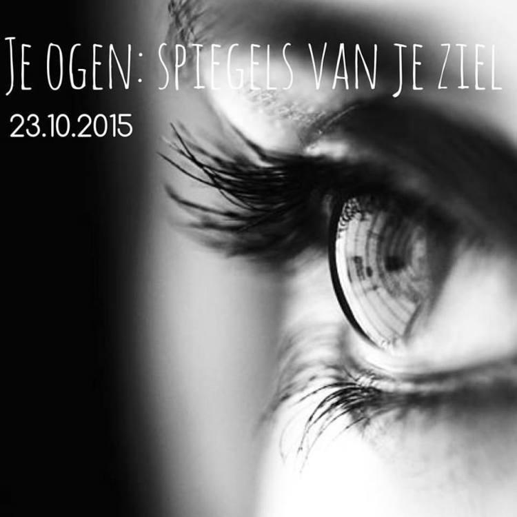 Het SchrijfCafé - Six Word Story - 23.10.2015 - Je ogen, spiegels van je ziel