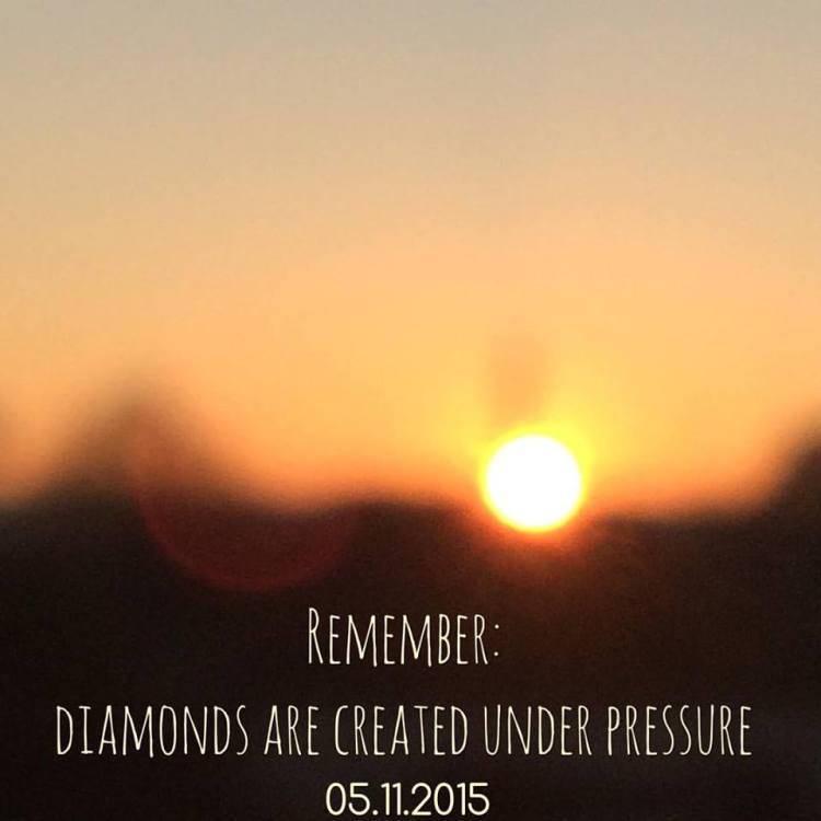 Het SchrijfCafé - Six  Word Story - 05.11.2015 - Remember, diamonds are created under pressure
